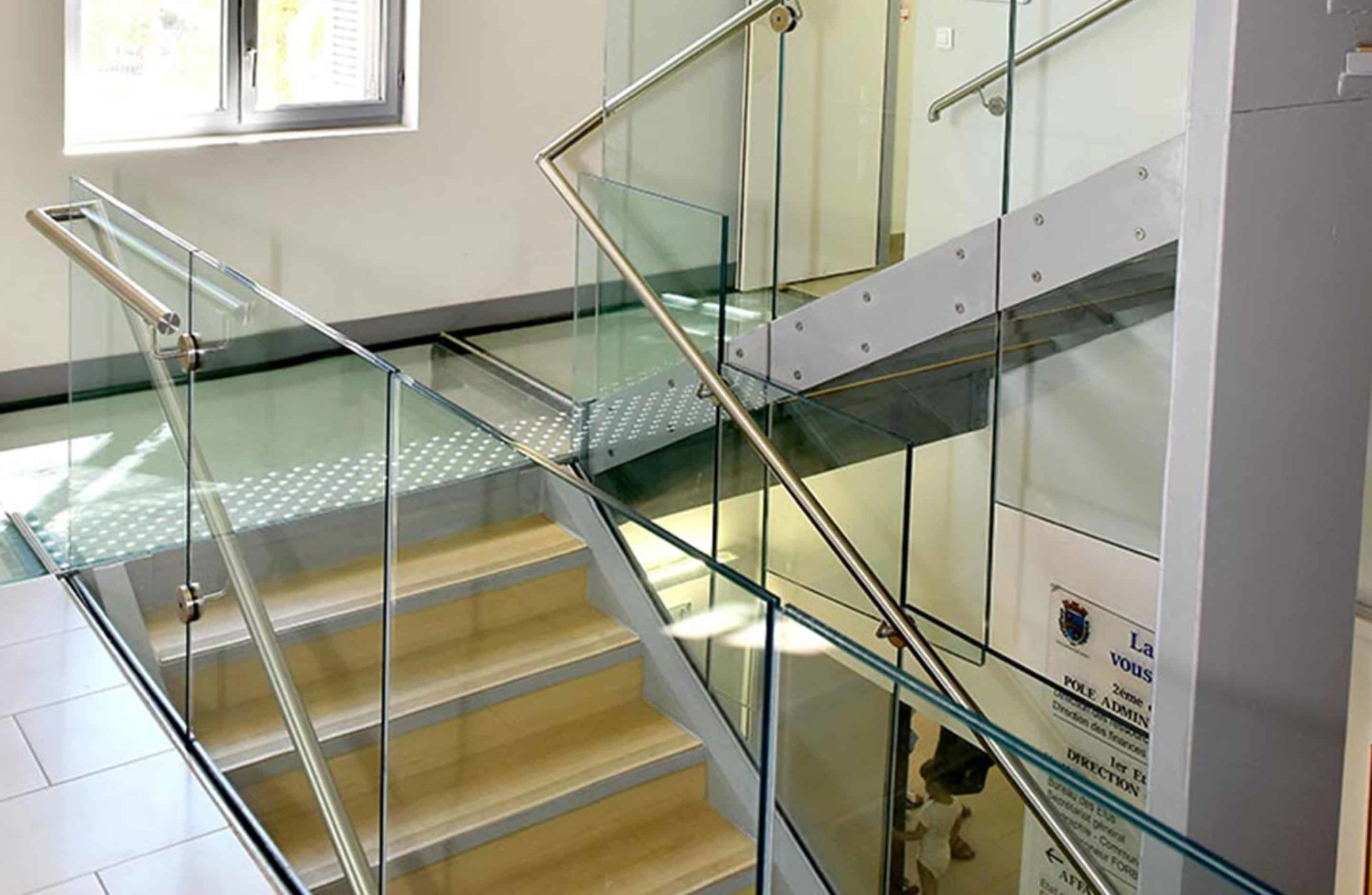 garde corps pour escalier chateau sollies pont